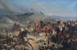 The Battle of Solferino, by Adolphe Yvon
